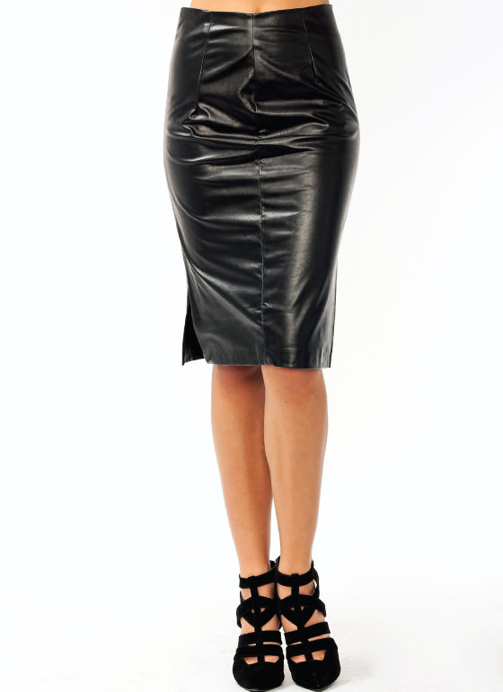 Sharpen Your Pencil Skirt BLACK