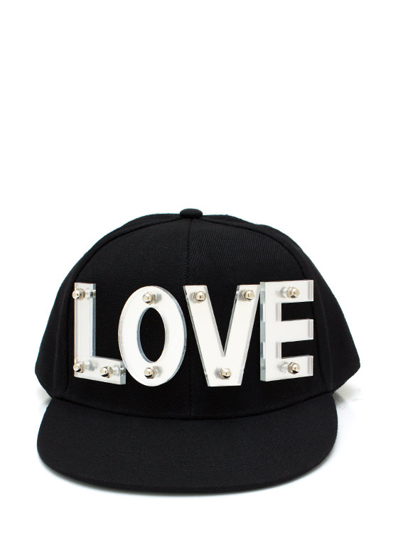 Spread The Love Snapback BLACKSILVER