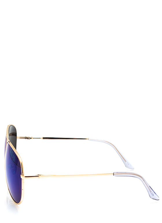 De Colored Sunglasses BLUEGOLD