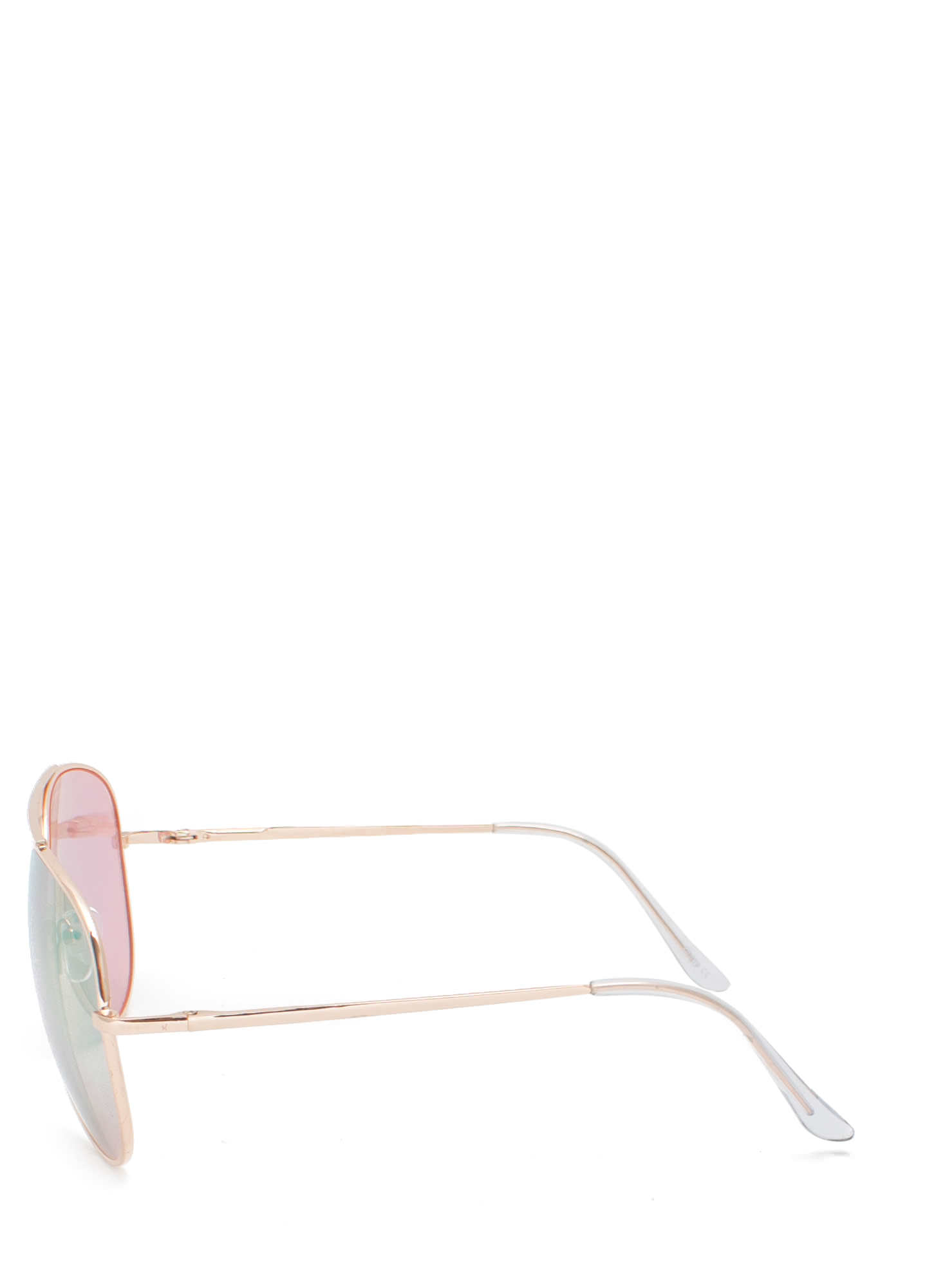 De Colored Sunglasses LTPINKGLD