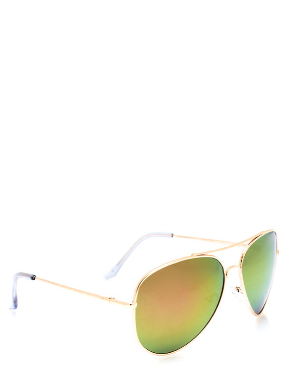 De Colored Sunglasses MULTIGOLD