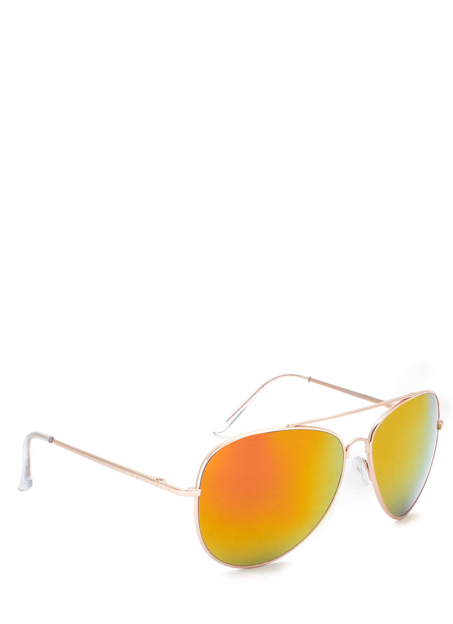 De Colored Sunglasses ORANGEGLD