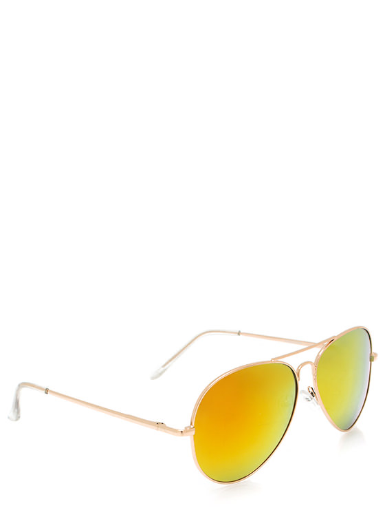 Color Trip Sunglasses ORANGEGLD