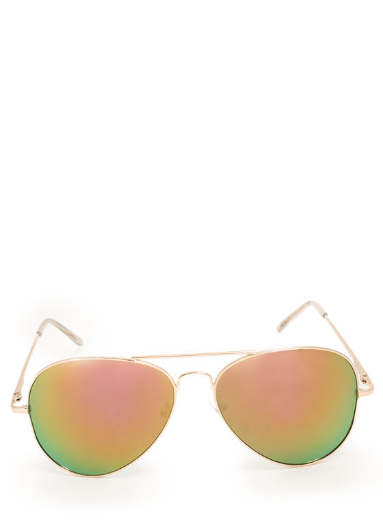 Color Trip Sunglasses PURPLEGOLD