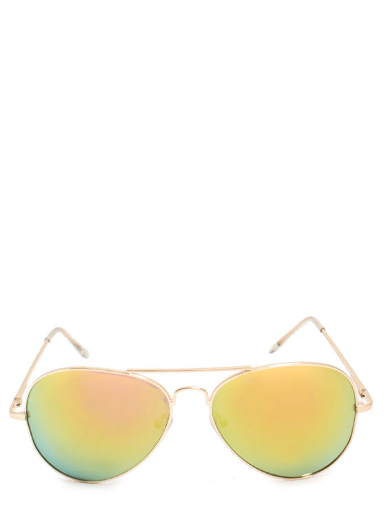 Color Trip Sunglasses YELLOWGLD