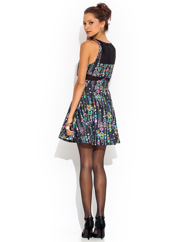 Too Cool For Jewels Dress BLACK