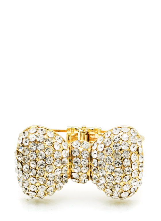 Big Bow Bracelet GOLD