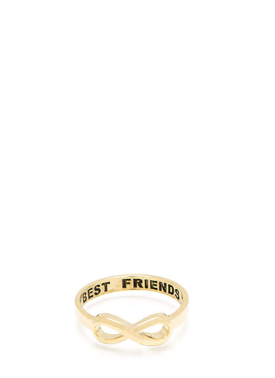 To Infinity And Beyond Ring GOLD
