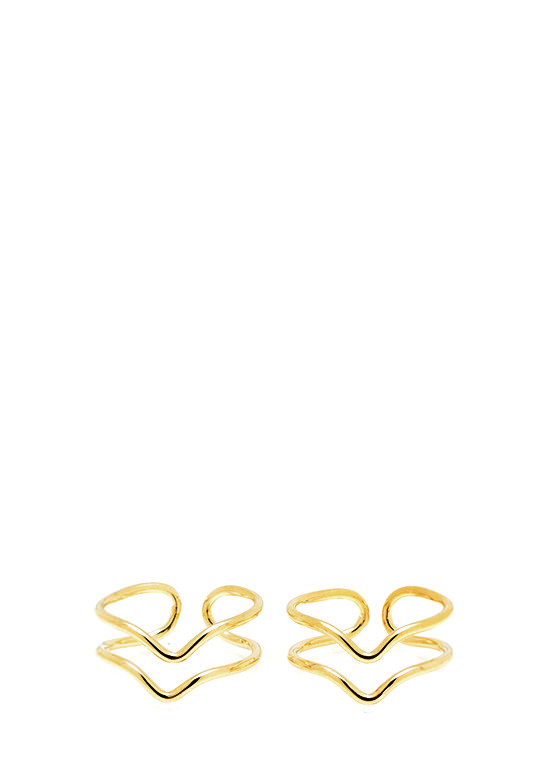 Heat Wave Ring Set GOLD