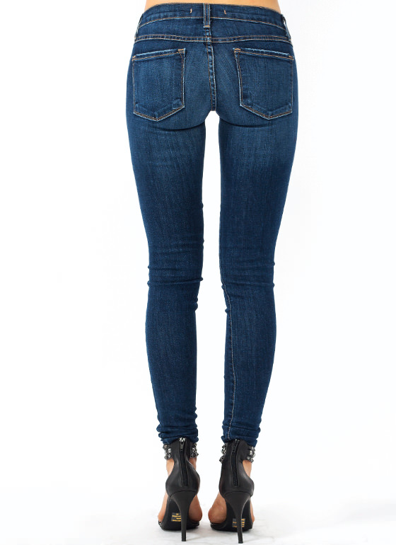 Rip It Up Skinny Jeans BLUE