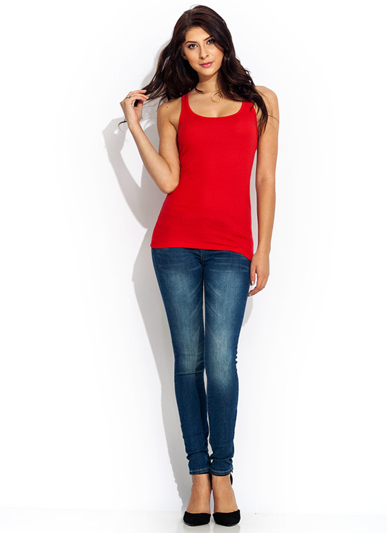 Fade Out Skinny Jeans BLUE