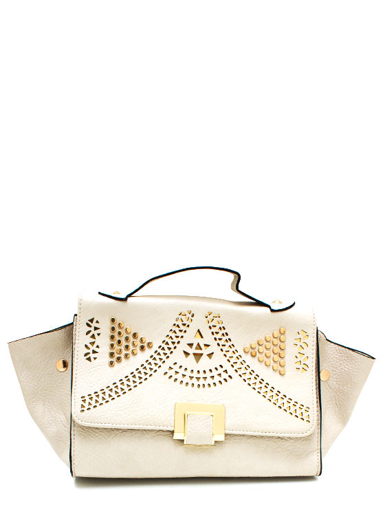 Hot Stud Purse CREAMGOLD