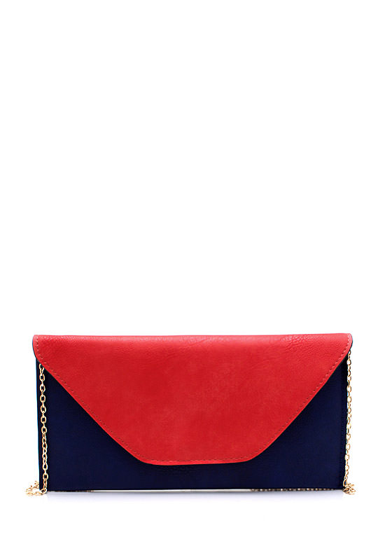Pushing The Envelope Clutch TOMATONAVY