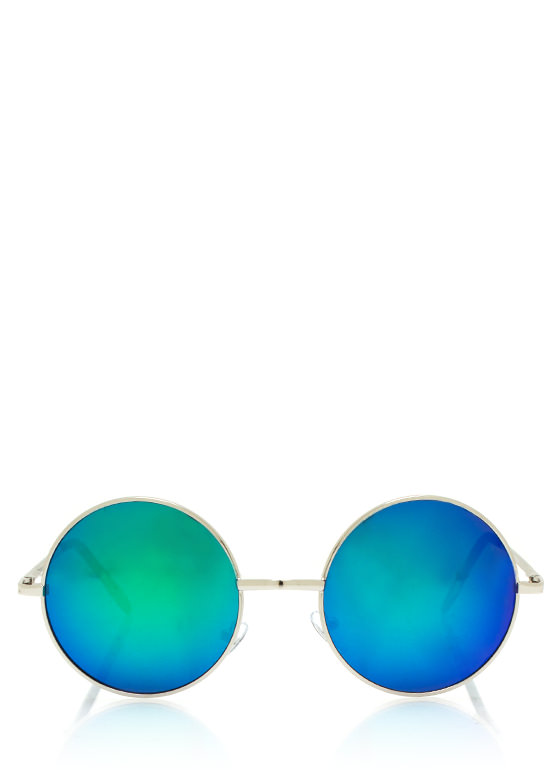 Soap Bubbles Sunglasses BLUESILVER