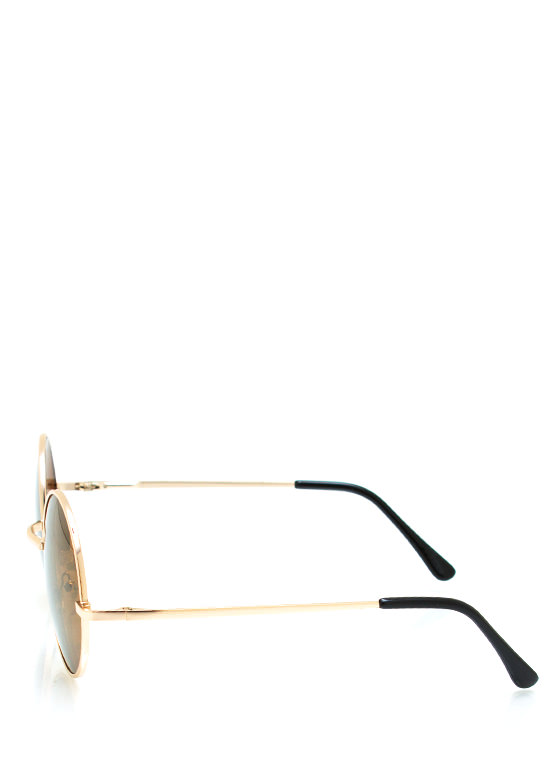 Soap Bubbles Sunglasses BRONZEGOLD