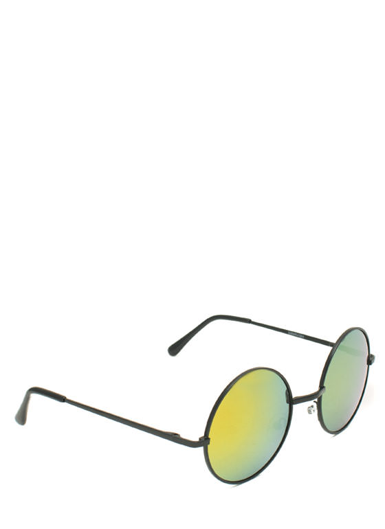 Soap Bubbles Sunglasses YELLOWBLK