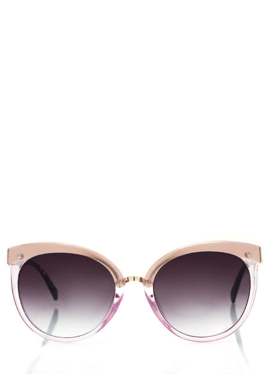 Wired In Cat Eye Sunglasses LAVENDER