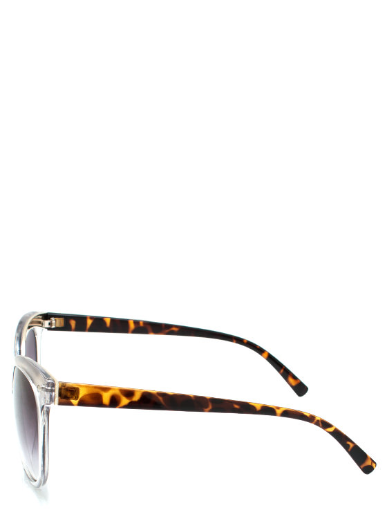 Wired In Cat Eye Sunglasses SILVER