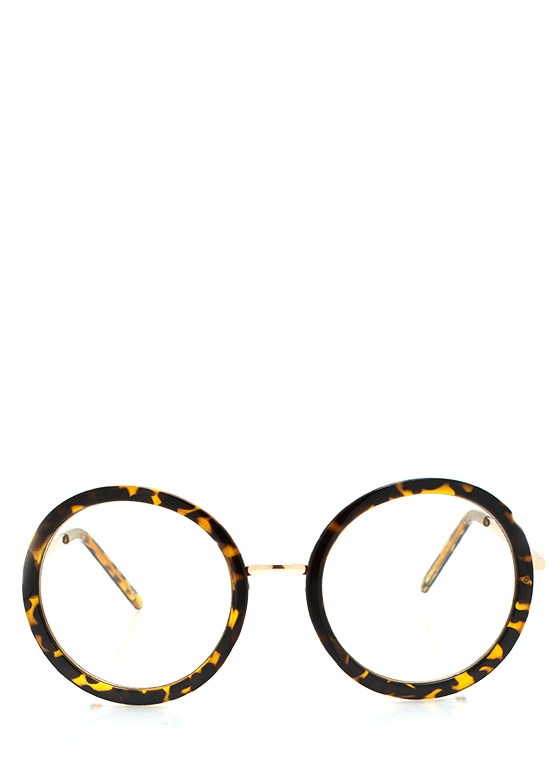 Round And Round Glasses LTTORTGOLD