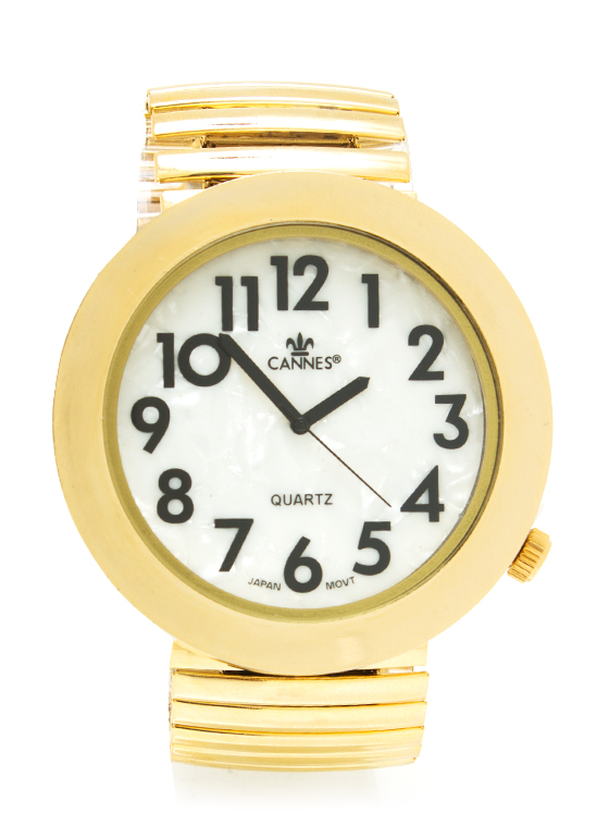 The Bigger The Better Watch GOLD