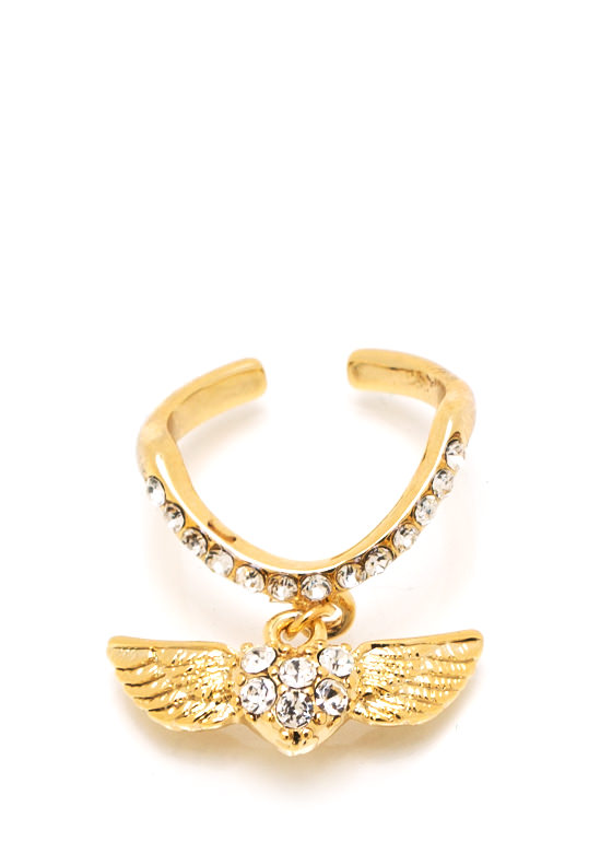 Love Is In The Air Ring GOLD