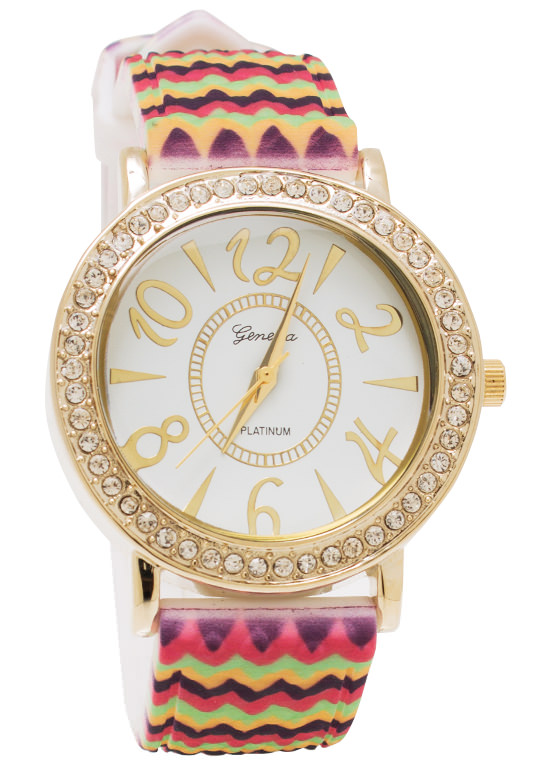 Ziggy Zag Watch GOLDFUCH