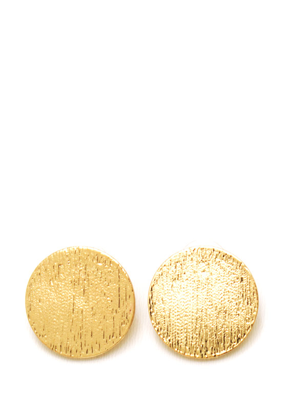 Circle Of Life Earrings GOLD