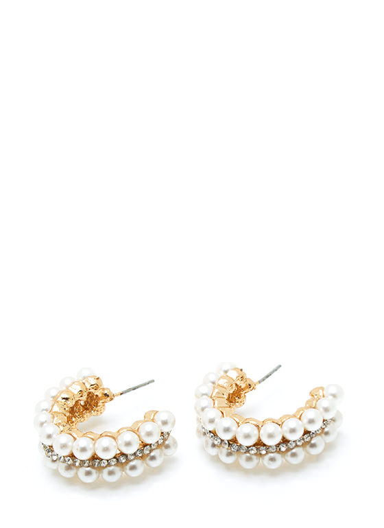 Pearl Lady Earrings IVORYGOLD