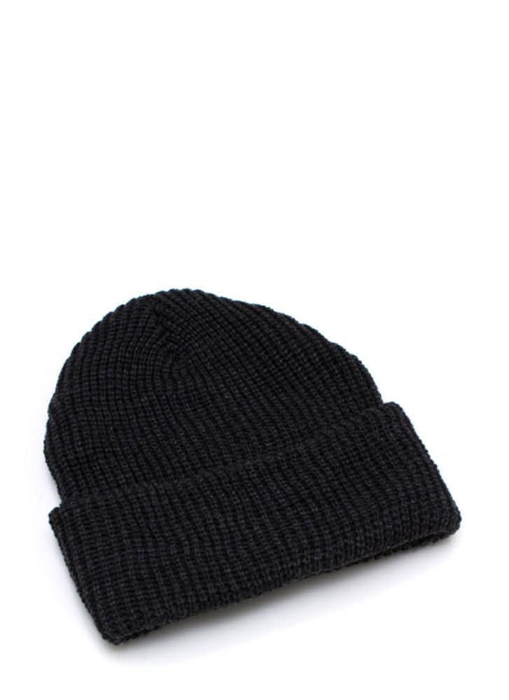 Knit Picky Beanie CHARCOAL