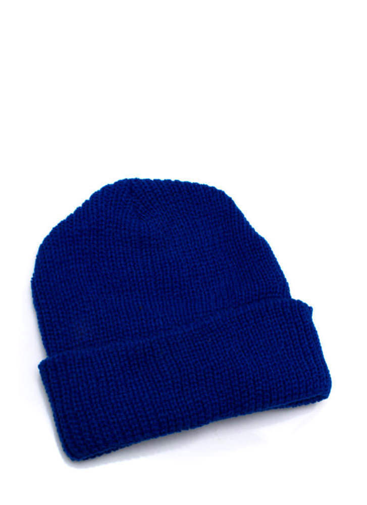 Knit Picky Beanie ROYAL