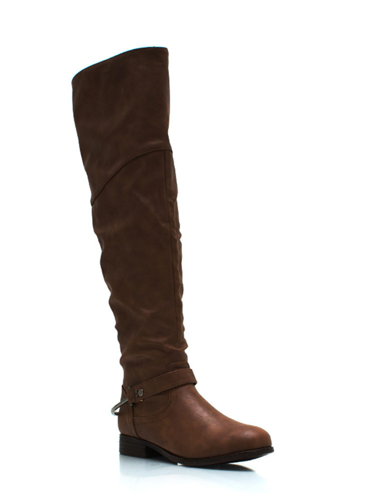 Pedal To The Metal Riding Boots CHESTNUT