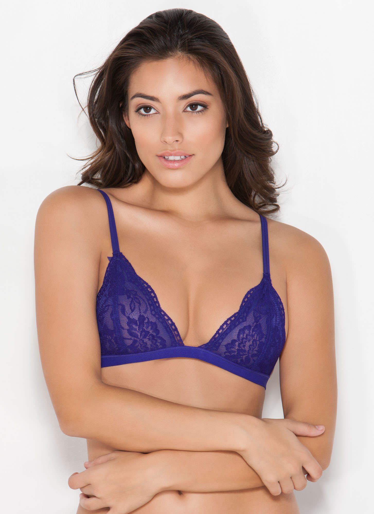 Lace Bralette BLUEPURPLE