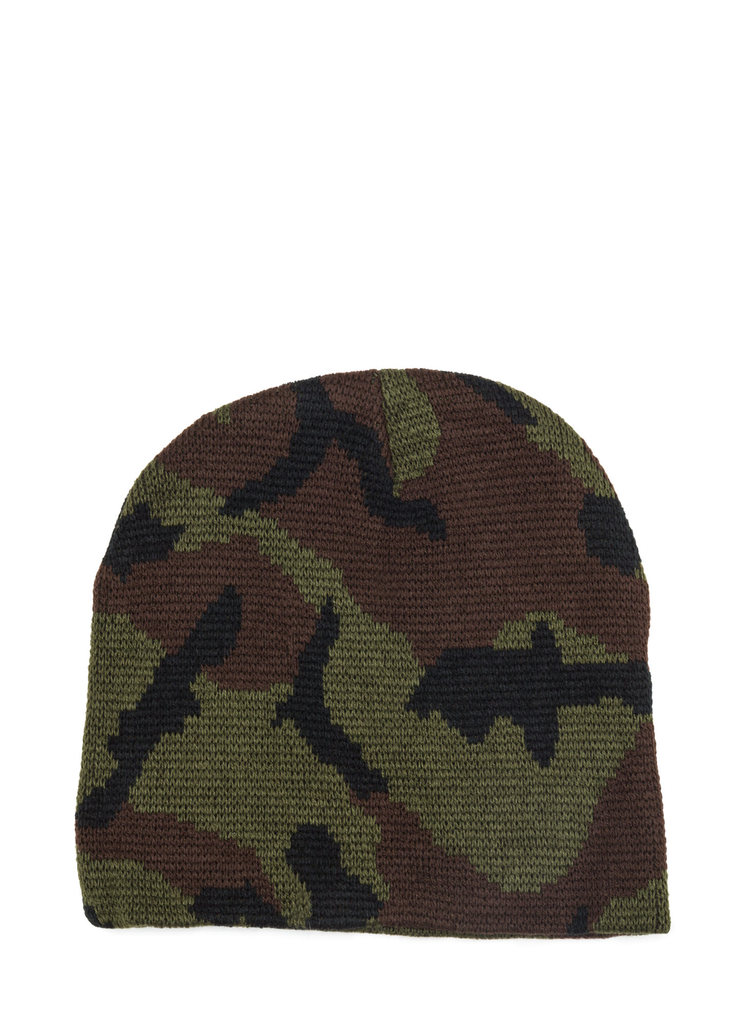 Camo Me Crazy Beanie OLIVEBROWN