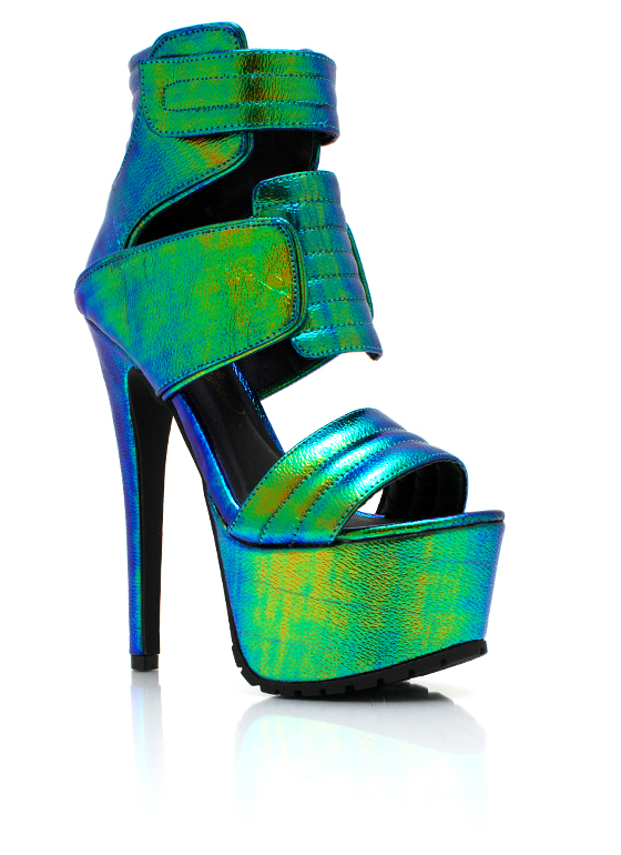 Fate Is Shield Shiny Platforms GREEN