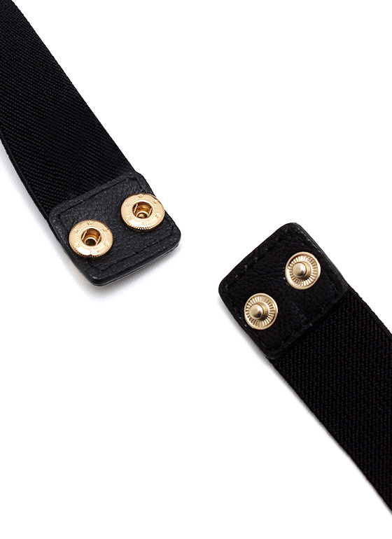 Bend It Plate Belt BLACKGOLD