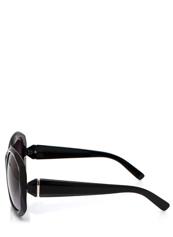 Too Faceted Sunglasses BLACKSILVER