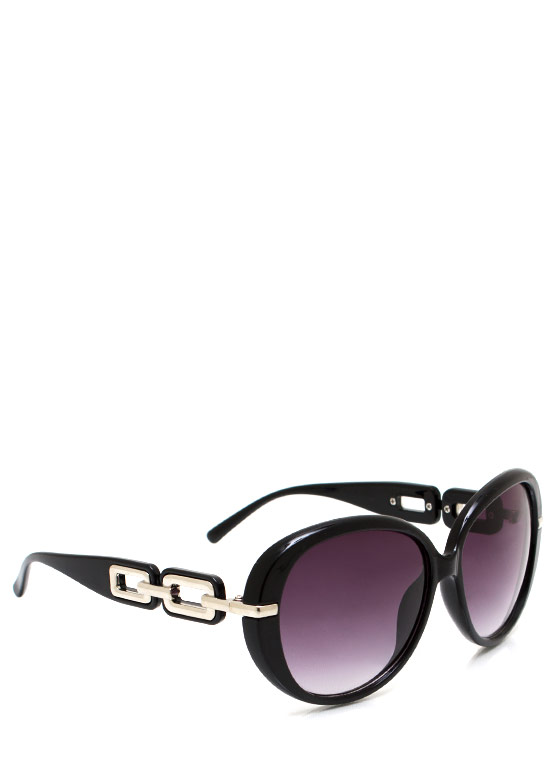 No Chainy Days Sunglasses BLACKSILVER