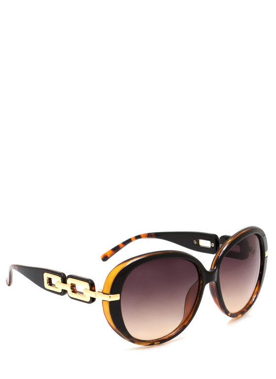 No Chainy Days Sunglasses BLACKTORT