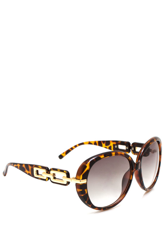 No Chainy Days Sunglasses LTTORTGOLD