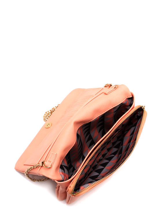 Cut It Out Wallet Clutch PEACHSLVR