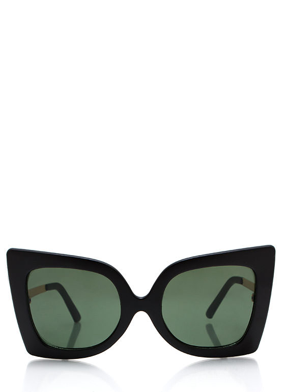 Cool Cat Eye Sunglasses MBLACKGOLD