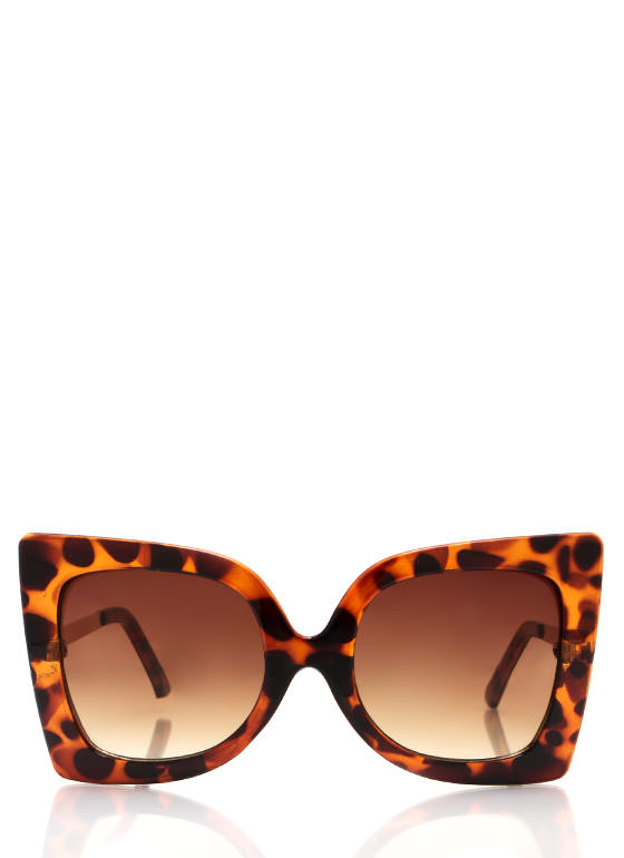 Cool Cat Eye Sunglasses TORTGOLD