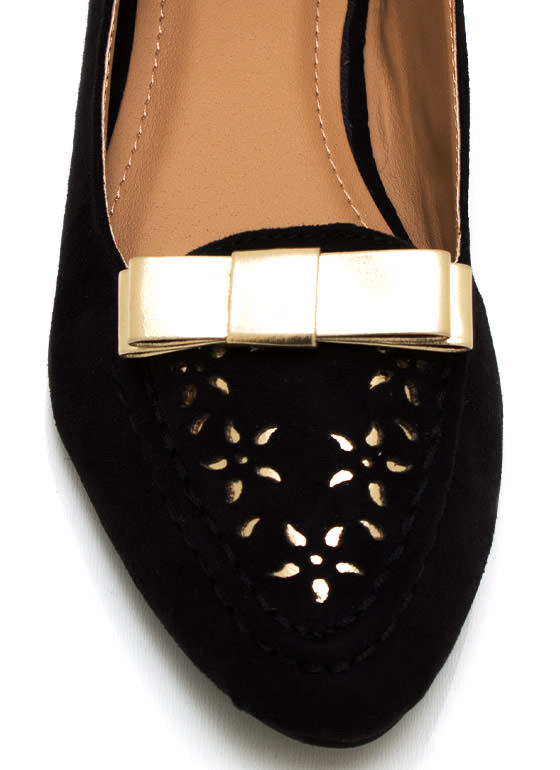 Take A Bow Loafers BLACK