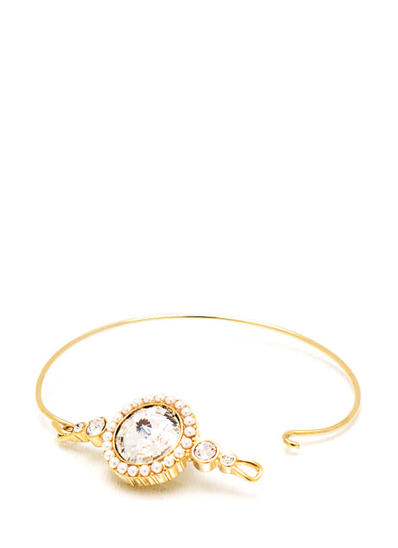 Hooked On You Jewel Bracelet GOLDIVORY