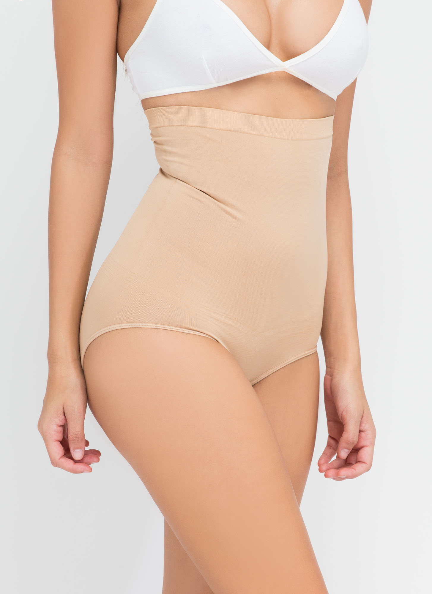 High-Waisted Tummy Control Panty BEIGE