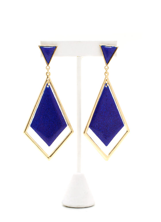 Shimmy Shimmy Earrings BLUEGOLD