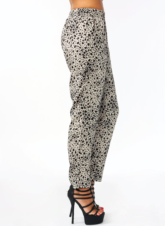 Seeing Spots Lounge Pants GREYBLACK
