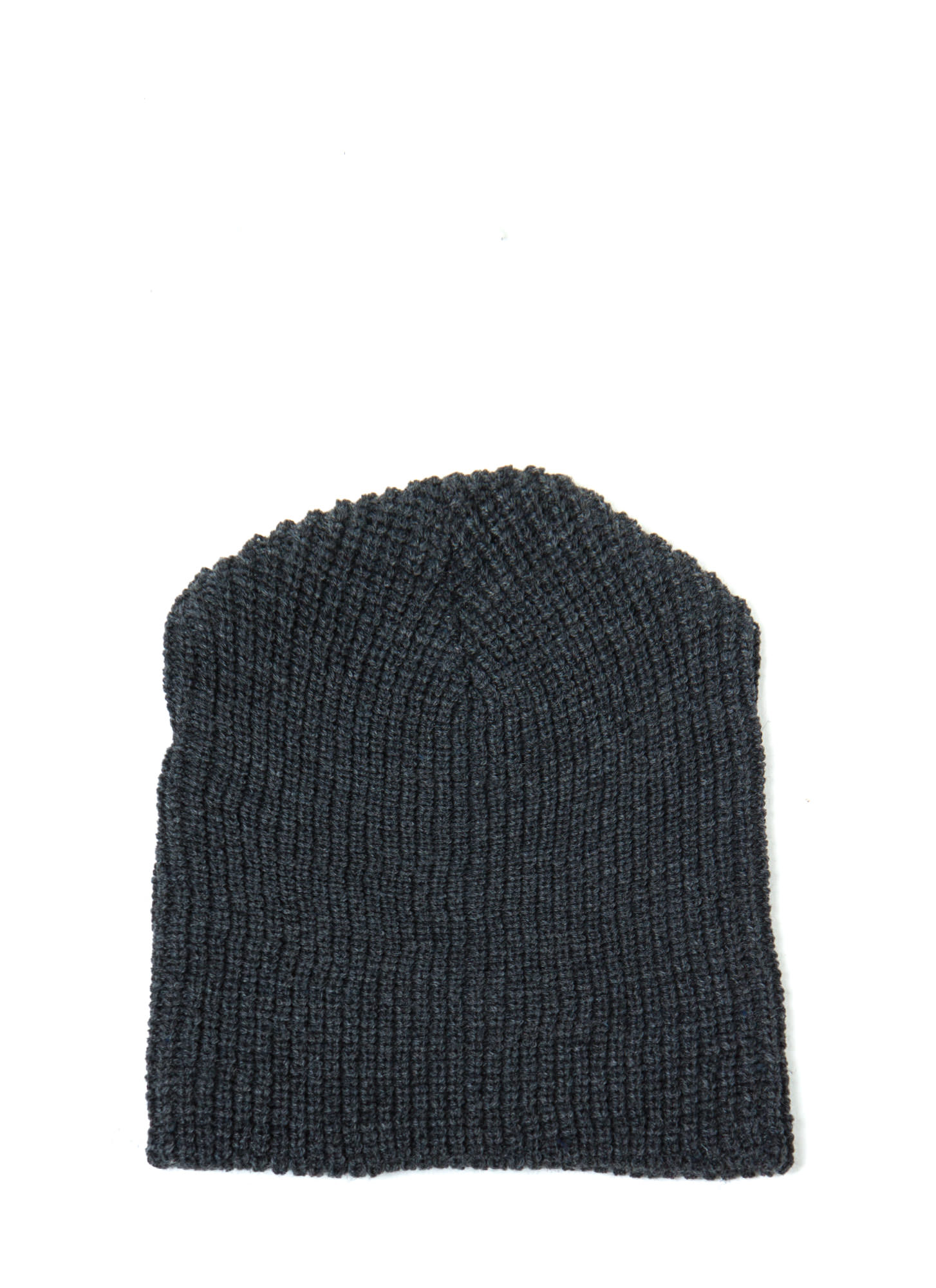 Heads Up Knit Beanie CHARCOAL