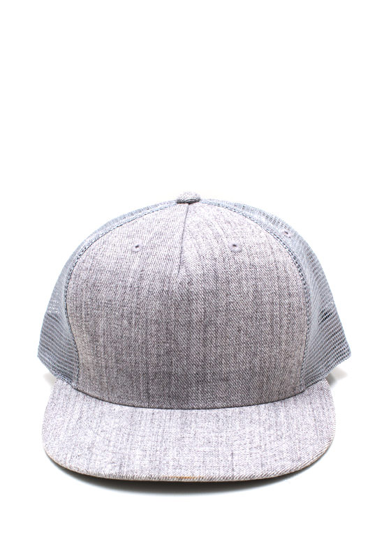Cap It Off Snapback GREY
