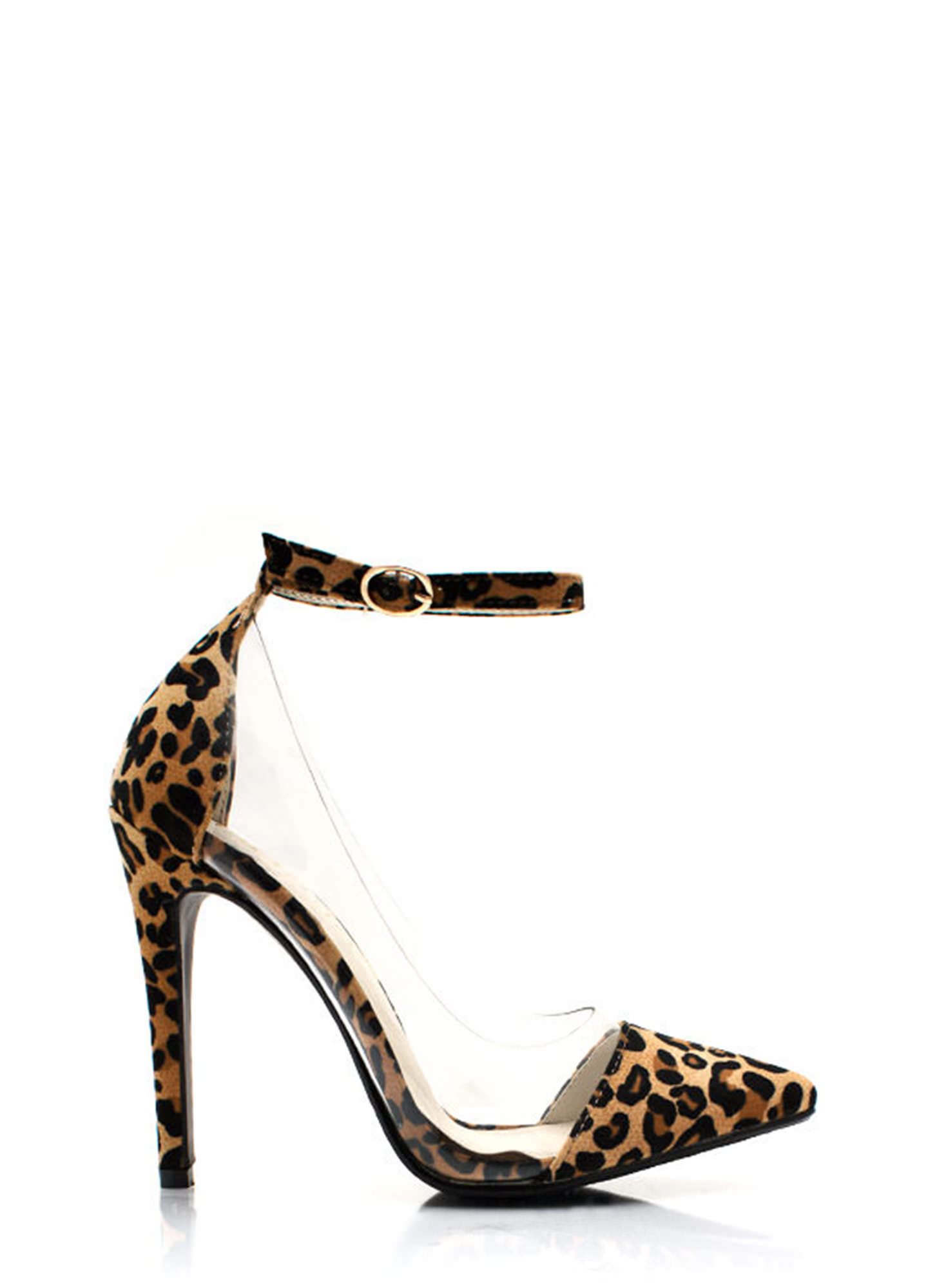 Clear Cut Pointy Leopard Pumps LEOPARD